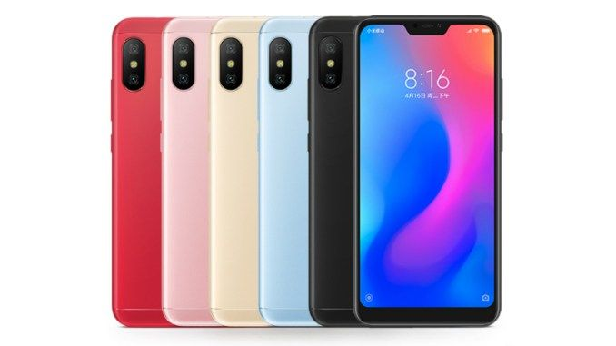 Xiaomi Mi A2 Lite Price Specifications Revealed Via Aliexpress Listing Xiaomi Android One Smartphone