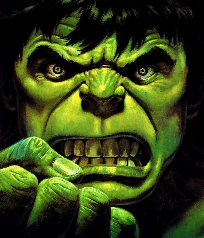 Hulk by Bob Larkin