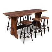 Found it at Wayfair - Conrad 7 Piece Counter Height Pub Table Set