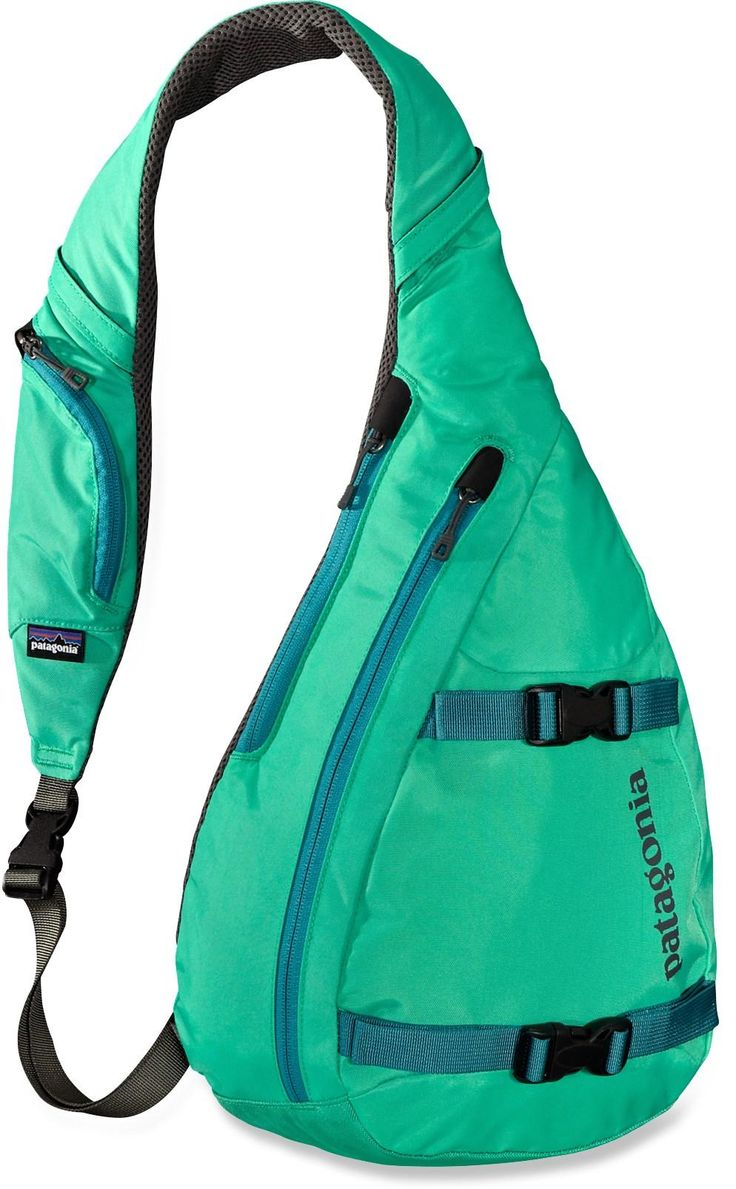Grab the 3-point Patagonia Atom Sling daypack and split! It offers the support of a daypack and the hands-free convenience of a courier bag.
