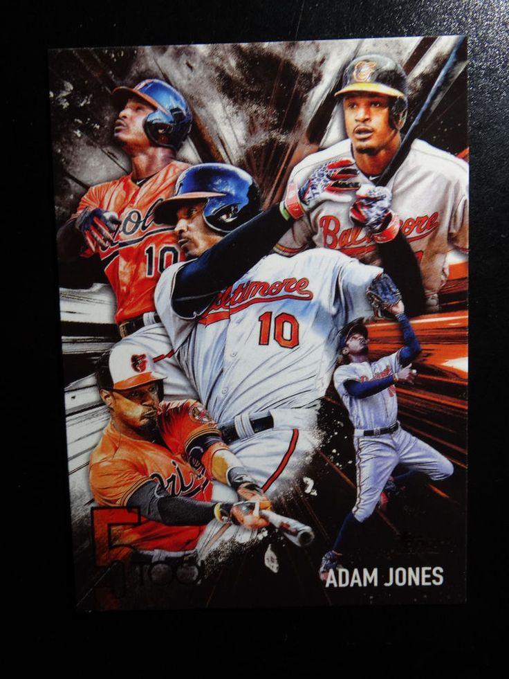 2017 Topps Series 1 #5T-39 Adam Jones Baltimore Orioles 5 Tool Baseball Card #Topps #BaltimoreOrioles