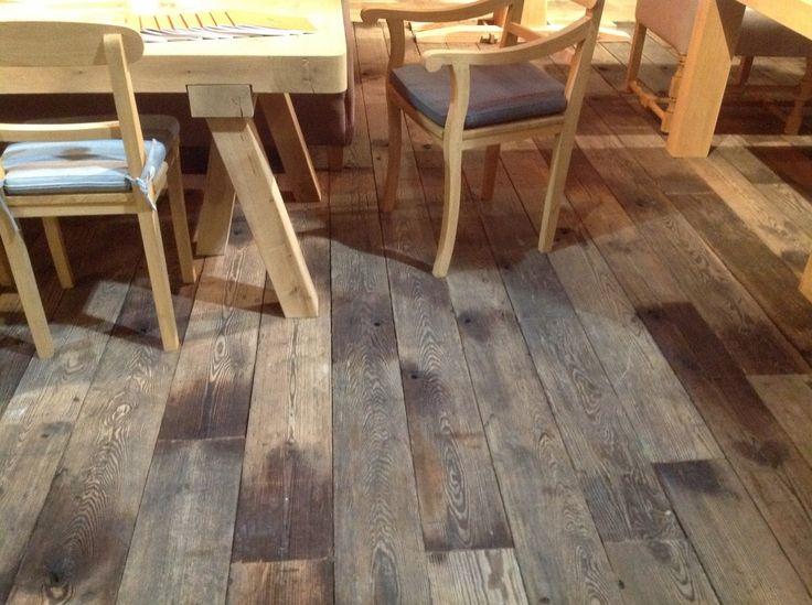 Plancher Bois Brut - 1000 idées sur le th u00e8me Reclaimed Parquet Flooring sur PinterestÉtages, Planchers En Chevrons