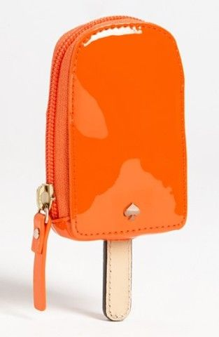 Kate Spade new york 'popsicle' coin purse. #HelloOrange