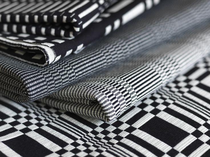 Johanna Gullichsen offers a range of woven textiles for modern living. #habitare2015 #design#sisustus #messut #helsinki#messukeskus