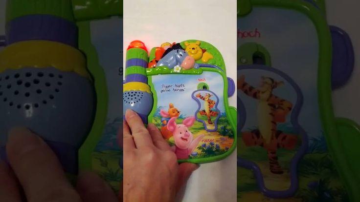 Детская музыкальная книжка Винни Пух для развития вашего ребёнка от Vtech