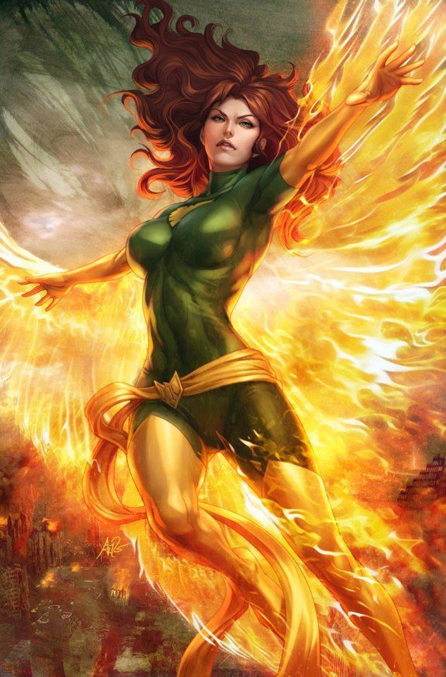 Jean Grey as Phoenix