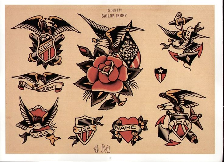 Sailor Jerry Tattoo Flash Volume 2 Sailor jerry tattoos