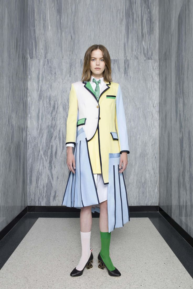 See the complete Thom Browne Resort 2017 collection.
