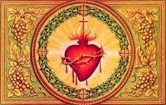 """""""Sagrado Corazón de Jesús, quiero tenerte como único objeto de mi amor.Sagrado Corazón de Jesús, en"""