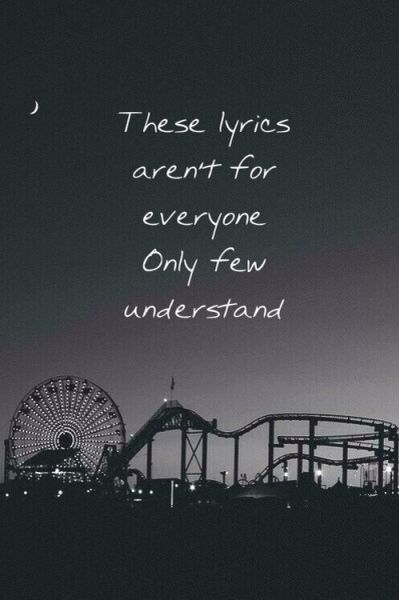 these lyrics aren't for everyone only few understand • message man // Twenty Øne Piløts