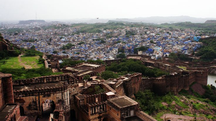 https://flic.kr/p/LFbCPw | The blue city | Jodhpur seen from the Mehrangarh fort, Jodhpur, Rajasthan, India