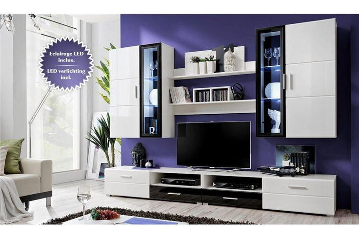 Meuble Tv Murale But : Meuble Tv Murale But Meuble Tv Laqué Noir Led Ensemble Meuble Tv
