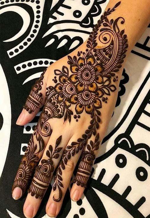 Wedding Party New Mehndi Designs Idea 2019 Mehendi Designs For