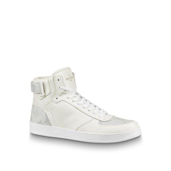 Louis Vuitton Rivoli Sneaker Boot Louisvuitton Shoes Mens Designer Shoes Sneaker Boots Mens Designer Dress Shoes