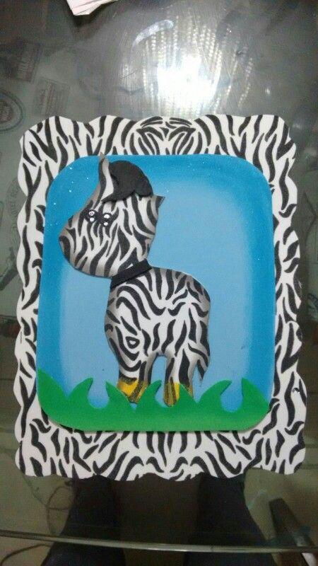 Cebra animal print