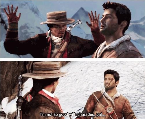 Uncharted 2. Oh Nathan(: