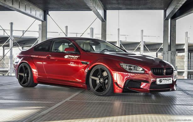 BMW 6-Series Coupe upgraded by Prior Design - Speed Carz