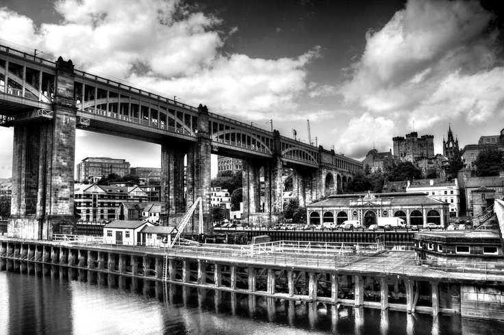 High Level Bridge Newcastle HDR