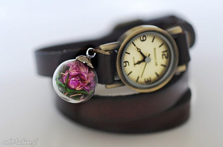 Skórzany zegarek damski #Ribell #MadameLili #zegarki #modadamska >>Wybierz Twój na: https://www.ribell.pl/zegarki-recznie-robione-handmade