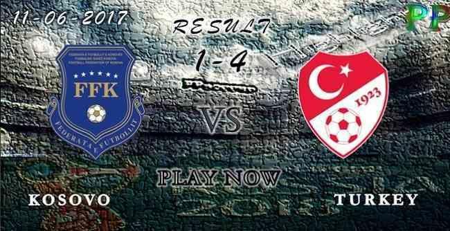 Kosovo 1 - 4 Turkey HIGHLIGHTS 11.06.2017