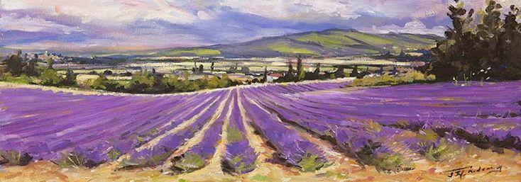 Lavender of the Vaucluse by James Somerville Lindsay | Edinburgh Arts