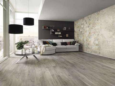 Large Plank Wood Flooring Tiles