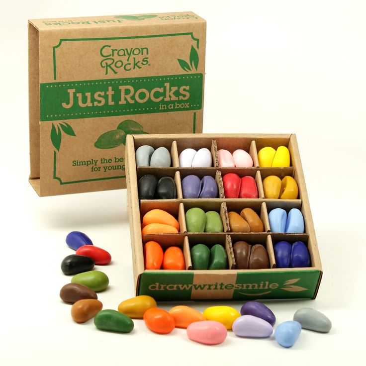 Presents for the kids in my life Just rocks in a box soy crayons (set of 64) Christmas in #htfstyle