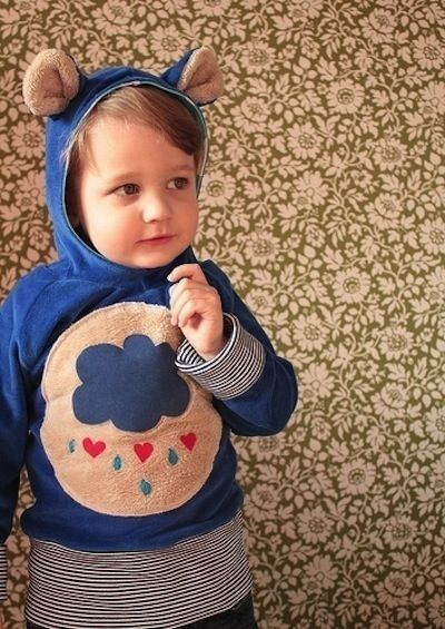 Care Bear | Hoodies Are The Hottest Kid's Costume Trend On Pinterest This Halloween