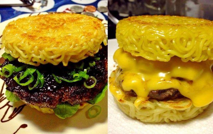 Aprenda a fazer o #hamburguer de miojo http://catr.ac/p525027 #receita