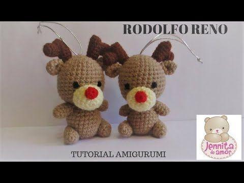(284) Reno amigurumi tutorial - YouTube