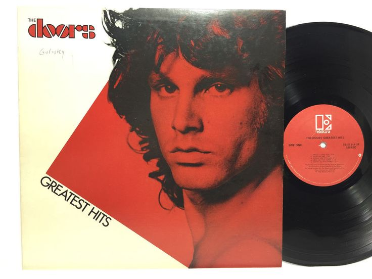 The Doors Greatest Hits 5E-515 LP Vinyl Record Original Elektra Red Label | Vinyl Records | Pinterest | Lp vinyl Lp and Jim morrison
