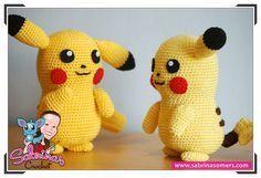 Pikachu - Pokemon - Free Crochet Pattern - Amigurumi
