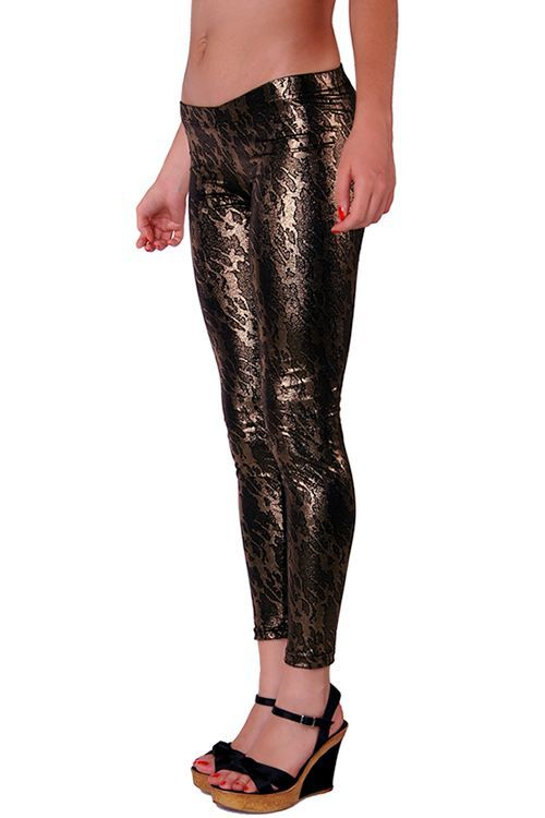 RedHotBest Onyx Printed Fashion Tight - Baskılı Dore Tayt, ModaBizde.com