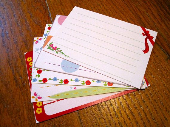 Animal Crossing Stationery Notecards  Cute Set by CraftedWithZeal, $5.00