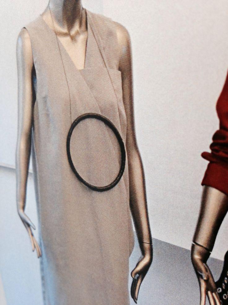 Silk dress. Exam Collection 2014 Fashion design Akademiet 2014