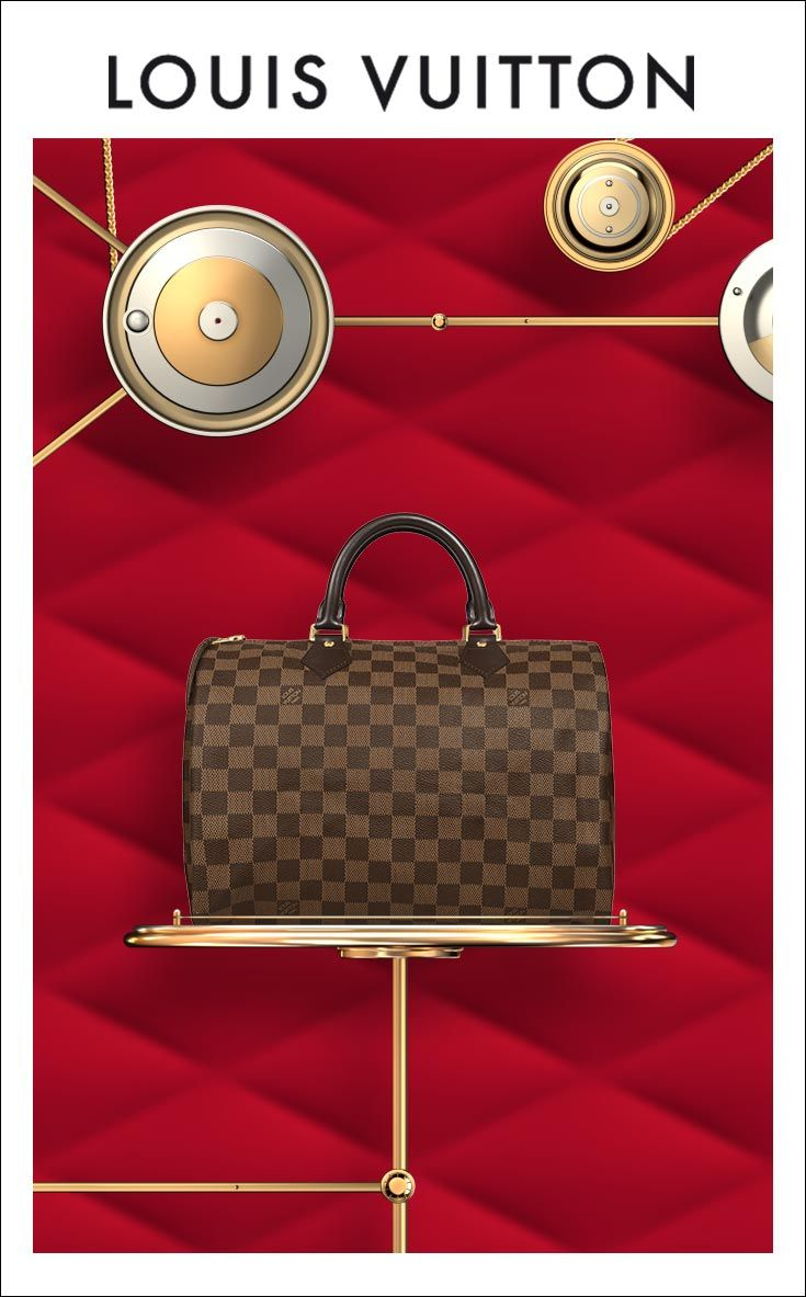 Give her a classic Speedy from Louis Vuitton. Shop Now.