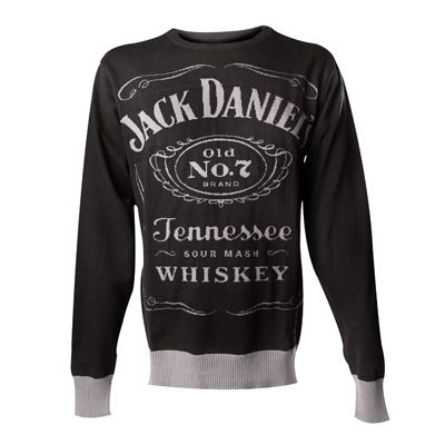 Classic knitted sweater Jack Daniels Whiskey merchandise, I want this.. haha love JD (the whiskey and the one from scrubs ;)  )www.attitudeholland.nl