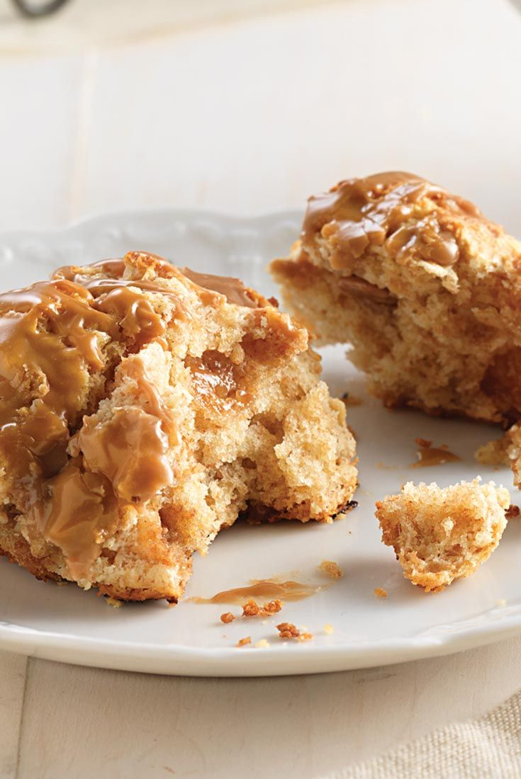 Irish Cream Scones Recipe. Made with Irish Cream Liquer.