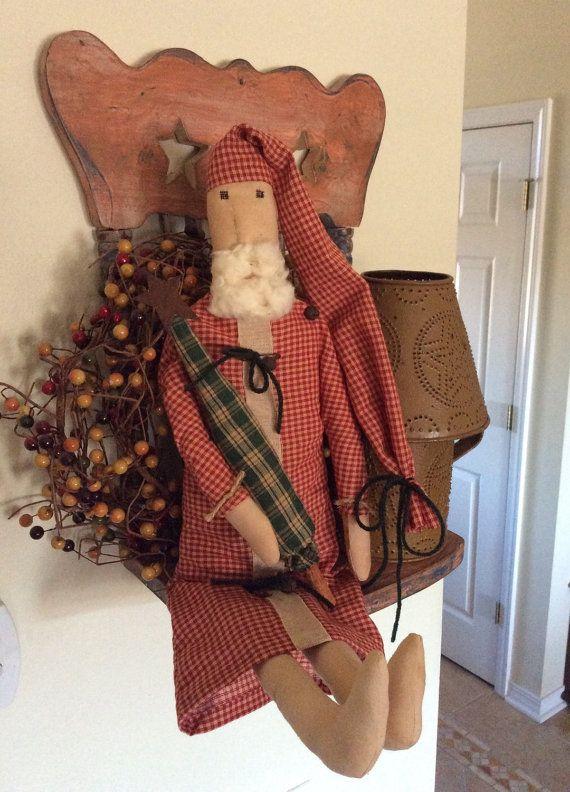 725 Best Santa Uncle Sam Images On Pinterest Primitive