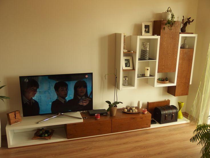 Bewood obývací stena