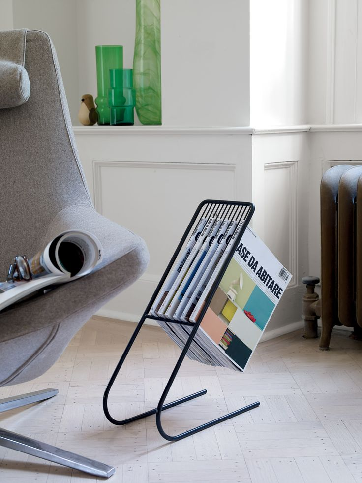 A clever and new approach to a magazine rack. Float Magazine Rack | Designed by J-Me More