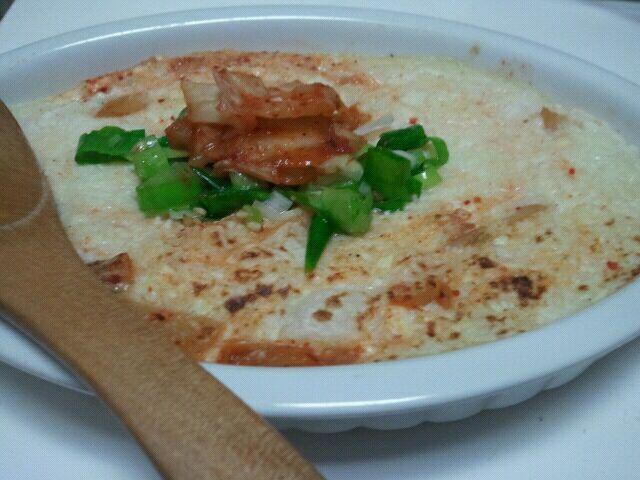 思ってた以上に美味しかった☆キムチとネギが賞味期限近づいてたので使ってみました レシピありがとうございました - 12件のもぐもぐ - mikisawaさんの長芋豆腐グラタン ネギキムチ by kaatsune