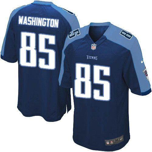 Youth Nike Tennessee Titans #85 Nate Washington Limited Navy Blue Alternate NFL Jersey Sale