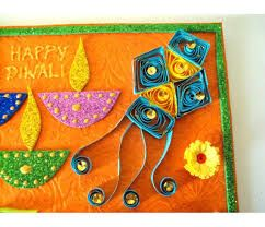 Image result for handmade diwali greetings cards