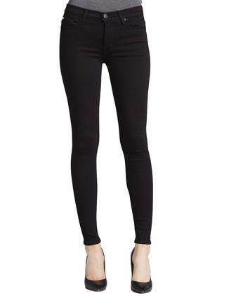 Hudson Nico Super Skinny Jeans, Black - Bergdorf Goodman