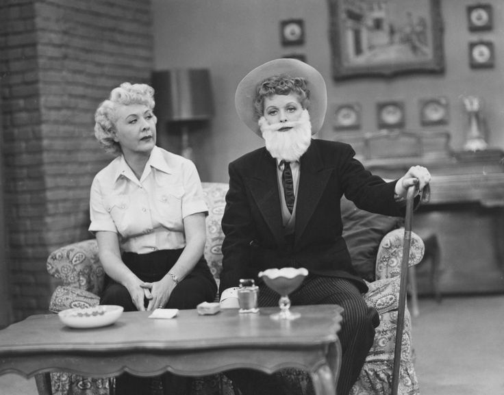10 Photos That Prove Lucy and Ethel Were the Best TV Friends Ever - CountryLiving.com