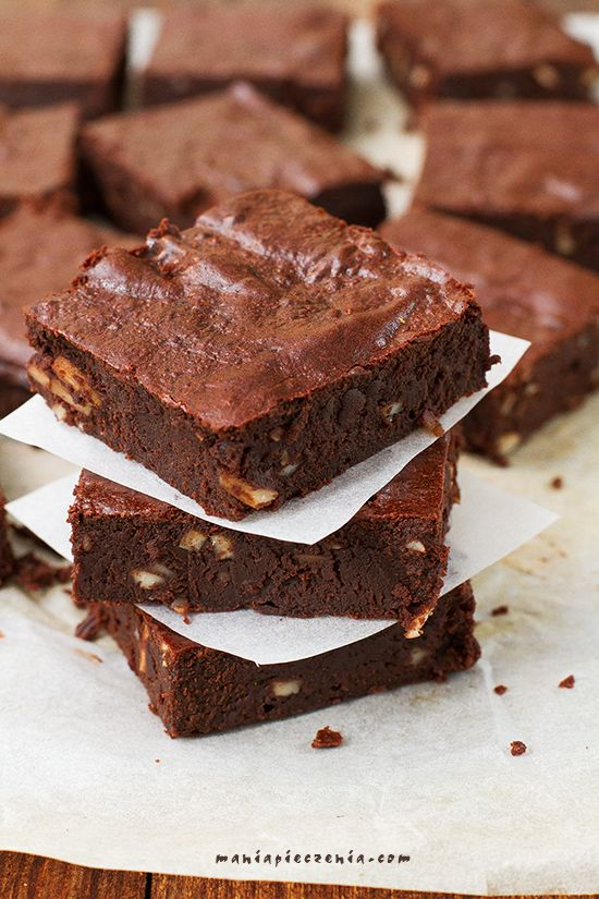 Zdrowe brownie (bez glutenu, cukru i laktozy) Brownie  (gluten, sugar and lactose FREE)