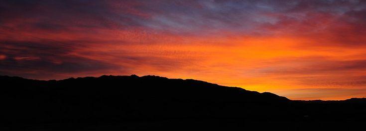 Zachód Słońca, Krajobraz, Sylwetka