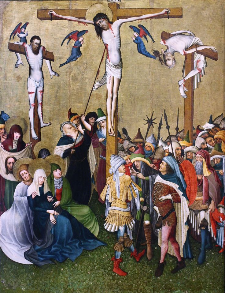 https://flic.kr/p/h3DcMt | IMG_5795  Master X Franconia Swabia. to 1440. Calvary | Maître X  Franconie- Souabe. vers 1440. Calvaire. Francfort Städelmuseum  Master X Franconia Swabia. to 1440. Calvary. Frankfurt Städelmuseum