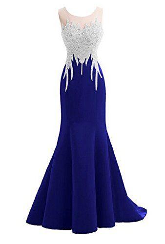 Felala 2014 Rundkragen Meerjungfrau Lang Satin Tüll Abendkleid mit Schleppe (Blau) Felala http://www.amazon.de/dp/B00P2BC1AY/ref=cm_sw_r_pi_dp_nKWhvb0EZ5V6M